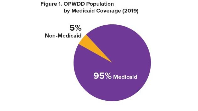 OPWDD Population by Medicaid Coverage